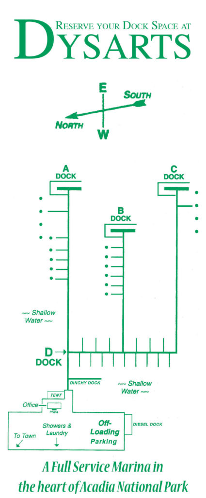 Dysart's-Marina-Dock-Layout