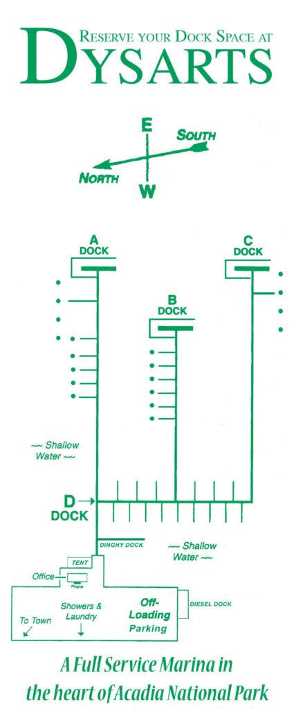 Dysart's-Marina-Dock-Layout