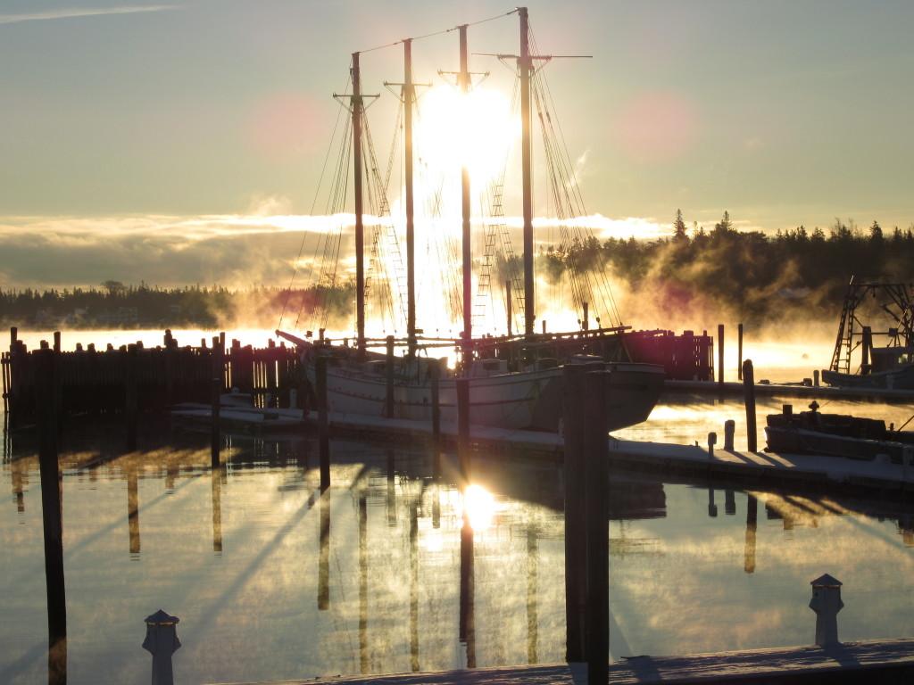 Southwest Harbor Marina history.